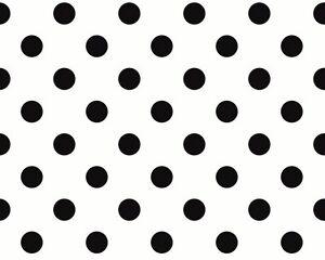 ... NEU Punkte Schwarz Weiß SCHÖNER WOHNEN 3 Tapete *TOP 2252-14 225214