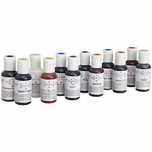 Americolor-Soft-Gel-Paste-Kit-2-New-12-Colors-Food-Coloring