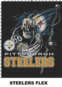 NFL-Pittsburgh-Steelers-Mascot-cross-stitch-pattern