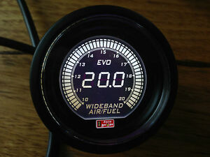 High-quality-52mm-AFR-Wideband-gauge-UEGO-Air-Fuel-Ratio-Selectable-Red-White