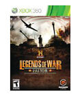 History: Legends of War Patton (Microsoft Xbox 360, 2012)