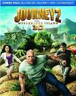 Journey 2: The Mysterious Island (Blu-ray Disc, 2012, 3-Disc Set, 3D Includes Digital Copy UltraViolet)
