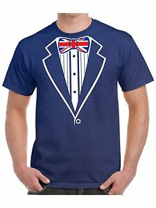 Tuxedo-T-Shirt-With-Union-Jack-Flag-Bow-Tie-Hen-Stag-Night-Fancy-Dress
