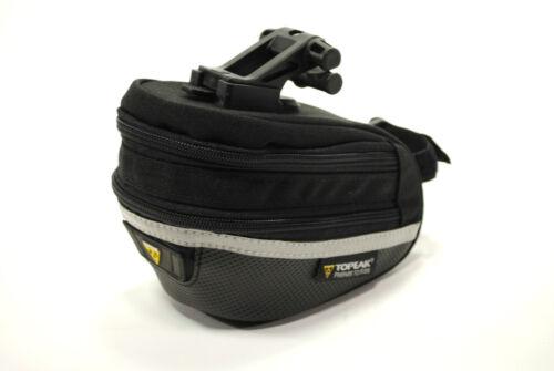 with F25 Fixer and Rain Cover,Medium Bicycle Bike Seat Bag Topeak Wedge Pack II