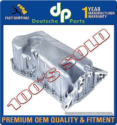 VW JETTA GOLF 2.8 L VR6 V6 ENGINE LOWER OIL PAN 021103601L 021 103 601L - OEMQ