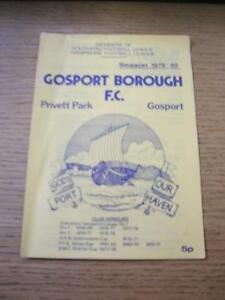 25081979 Gosport Borough v Basingstoke Town   No obvious faults unless descr - <span itemprop=availableAtOrFrom>Birmingham, United Kingdom</span> - Returns accepted within 30 days after the item is delivered, if goods not as described. Buyer assumes responibilty for return proof of postage and costs. Most purchases from business s - Birmingham, United Kingdom