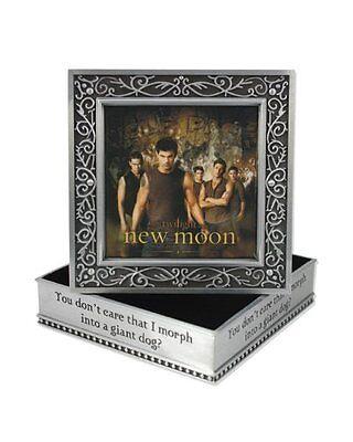 TWILIGHT - New Moon 'Wolf Pack' Metal Jewellery Box (NECA) #NEW