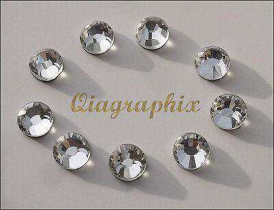3x 288 Pcs (6 gross) DMC Iron On Hotfix Crystal Rhinestones Clear SS30, SS30A