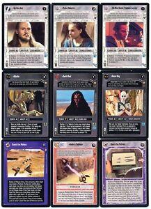 Star-Wars-CCG-Tatooine-Complete-Set-Limited-BB-No-AI