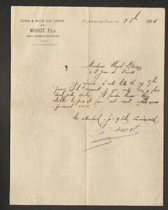 SAINT-GERMAIN-des-FOSSES-03-COMMERCE-de-VINS-amp-BOIS-034-MOROT-Fils-034-en-1884