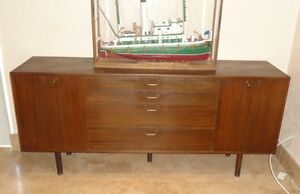 RARE-Harvey-Probber-Credenza-Side-Board-Dresser-Mid-Century-Modern-Chest