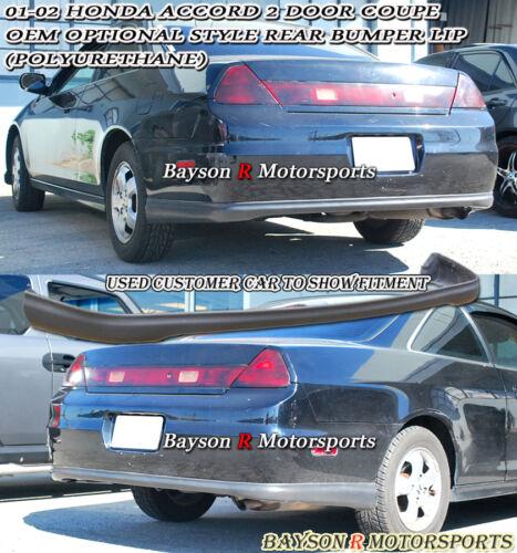 OE Optional Rear Bumper Lip Urethane Fits 01-02 Accord 2dr