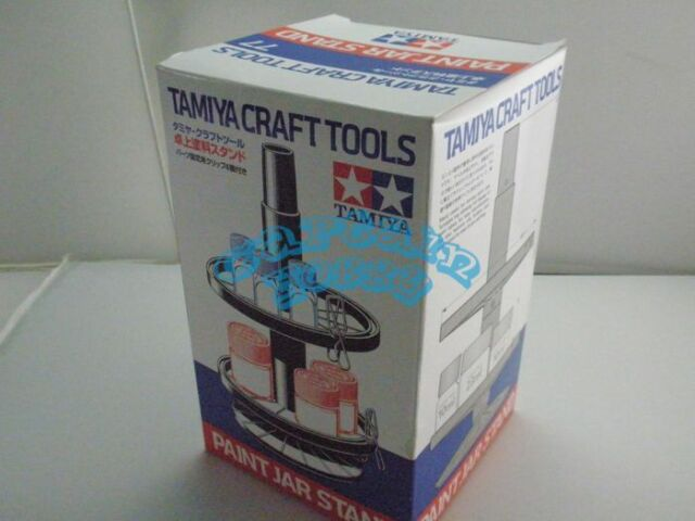 TAMIYA 74077 Bottled Paint Stand - w/4 Alligator Clips Craft Tools