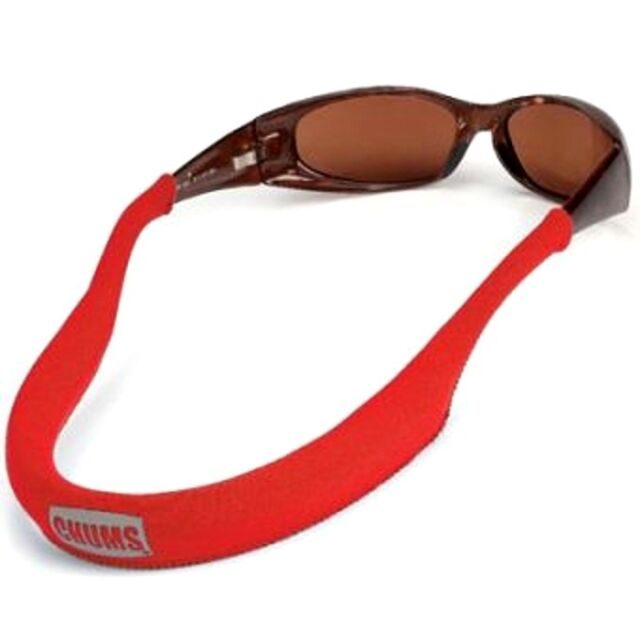 CHUMS NEO retainer sunglasses glasses float strap boating floating marine RED