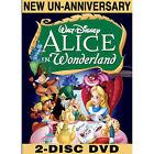 Alice in Wonderland (DVD, 2010, 2-Disc Set, Un-Anniversary Special Edition)
