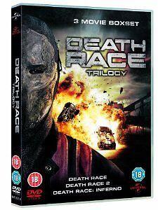 Death Race Trilogy DVD 2008 Complete 1-3 Boxset