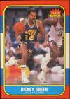1986 Fleer Rickey Green #39 Basketball Card