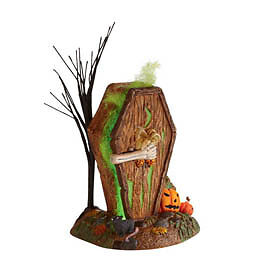 Dept-56-Halloween-Village-DYING-TO-GET-IN-OUTHOUSE-New-2011-4024037