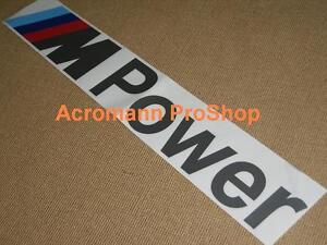 33 Quot 84cm M Power Windshield Decal Sticker Bmw 1m M3 M4 M5 M6 X5 X6 Z3 Z4 Gt Vinyl
