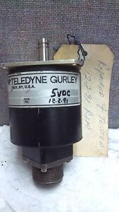 Teledyne gurley encoder 8225 5000 cltd used 82255000cltd ebay Gurley motor
