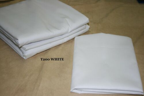 """Body Pillow 22/"""" x 60/"""" with 200 Thread Count 50//50 Poly Cotton Pillowcase"""