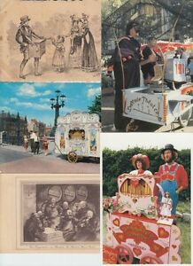 STREETORGANS MUSICBOXES Music 31 Postcards pre-1990