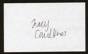 Tracy-Caulkins-signed-autographed-3x5-Olympic-Swimmer