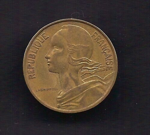 France 10 Centimes 1967 Coin KM # 929 Lot-F2