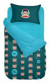 PAUL-FRANK-BEDDING-SHEET-3PC-DUVET-FITTED-SHEET-PILLOW-BEDSET-100-COTTON-NEW