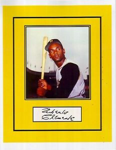 Roberto clemente signed color 8x10 autographed reprint for Roberto clemente coloring page