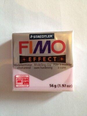 1 panetto fimo effect 56gr 206 rosa perlato