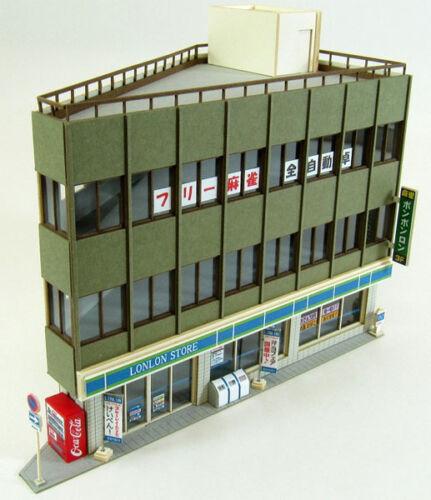 Sankei MP03-84 Acute Angle Building A 1/150 N scale