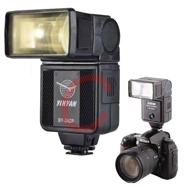 BY-24ZP Flash Speedlight for Canon Nikon Pentax Fujifilm SLR DSLR Camera