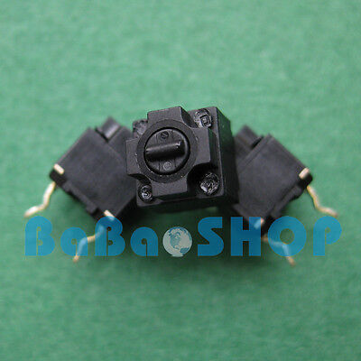 Panasonic Square Micro Switch for Mouse Black Button Brand New