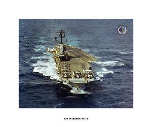 USS-INTREPID-CVS-11-Naval-Ship-Photo-Print-USN-Navy