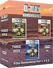 D-Day Remembered - Part 1-3 (DVD, 2006, 3-Disc Set, Box Set)