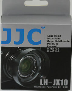 Professional Replacement Lens Hood LH-X10 LHX10 For Fuji X10 Digital Camera NEW