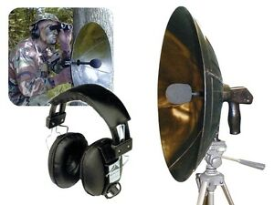 Spy Listening Device Detect Ear Parabolic Microphone