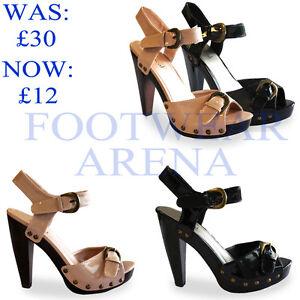 New-Ladies-Stiletto-Bridal-Ankle-Strappy-Platform-Sandals-Womens-Shoes-UK-3-8
