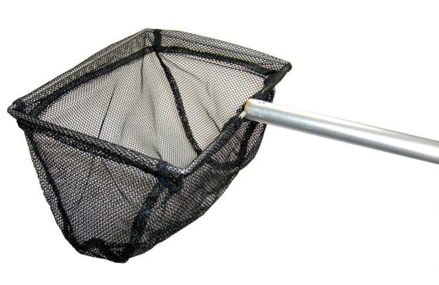 GARDEN POND CLEANING NET LEAF FISH DIP KOI GOLDFISH TIDDLER STICKLEBACK DYKE