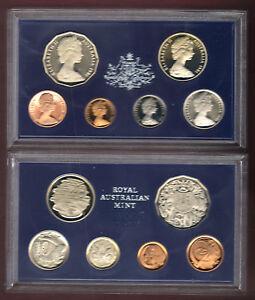 1981-Royal-Australian-Mint-Proof-Set-of-6-Coins