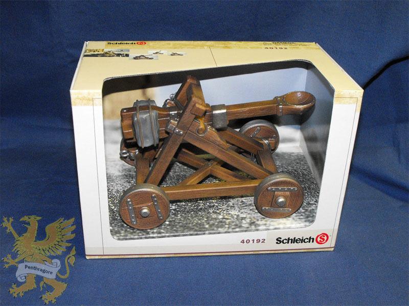 Catapult - Schleich 40192 - Castle Accessory NIB (Rare)