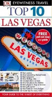 """AS NEW"" DK Eyewitness Top 10 Travel Guide: Las Vegas, Emerson, Connie, Book"
