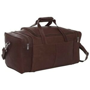 Piel Leather Small Duffle Bags - Chocolate for sale online  d86c875f828ae