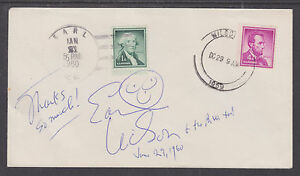 Earl-Wilson-American-Author-Signed-1960-Cover-EARL-WILSON-CDS-cancels