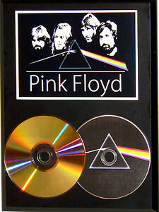 Pink-Floyd-24k-Gold-CD-amp-Picture-Disc-Display-Limited-Edition-USA-Ships-Free