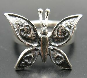 STERLING-SILVER-RING-SOLID-925-BUTTERFLY-NEW-SIZE-3-5-11
