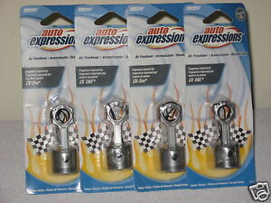 LOT-OF-4-POWER-PISTON-HANGING-AIR-FRESHENERS-CAR-HOME-CK-ONE-FRAGRANCE-INSPIRED