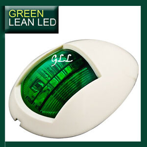 Marine-Navigation-Lamp-LED-Light-Submersible-Boat-Accessories-GREEN-PORTSIDE