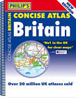 Philip's Concise Atlas Britain: Spiral A5 by Octopus Publishing Group (Paperback, 2012)
